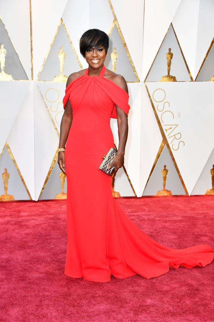 Viola Davis  Viola Davis Solely Wore Heels as Lengthy as She Needed to on the Oscars 1939f5cbe4b6e810de376f40494496d0
