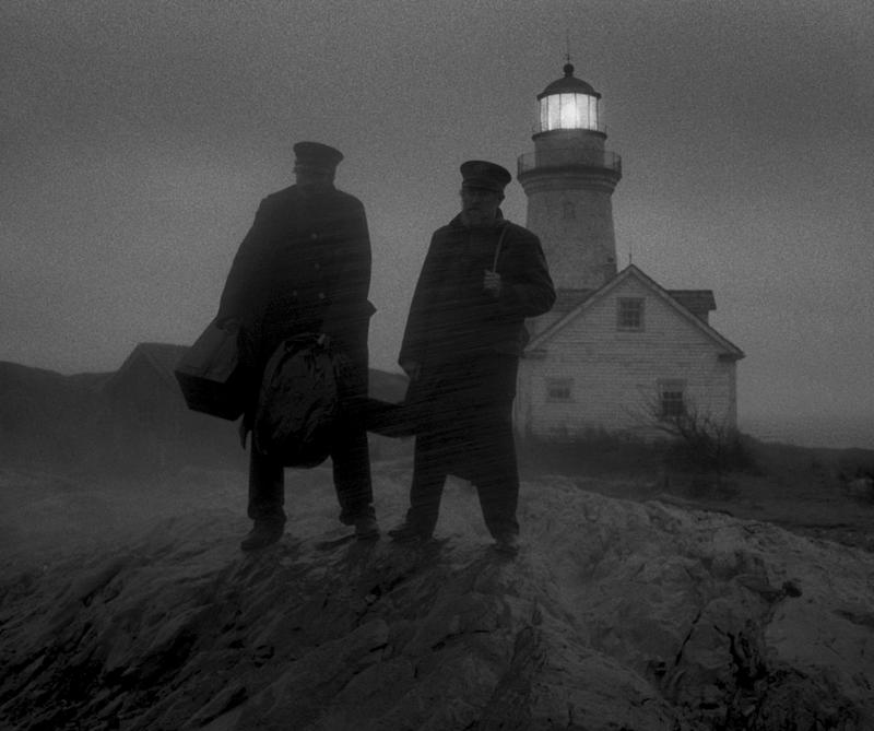 A scene from The Lighthouse.