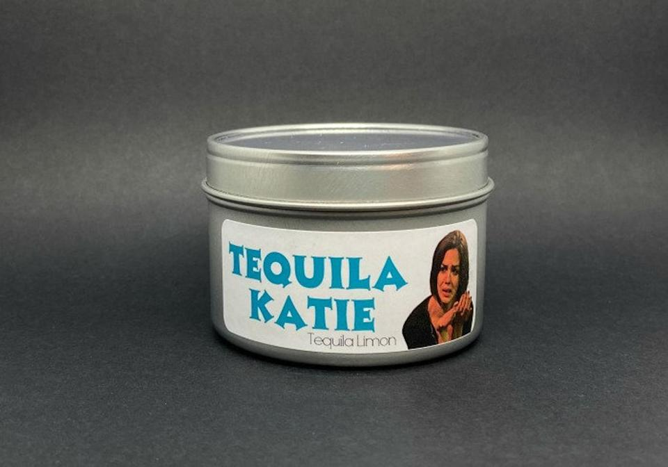<p>The <span>Tequila Katie Candle</span> ($25, originally $28) is for the bubba in your life.</p>