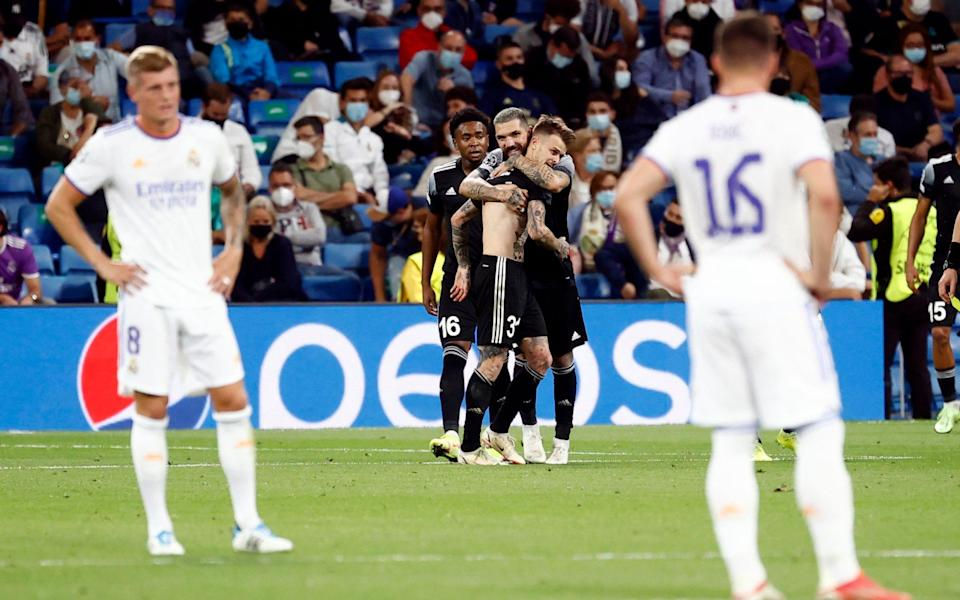Sheriff Tiraspol pull off biggest shock in Champions League history with late victory at Real Madrid - REUTERS