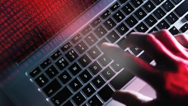 PHOTO: This undated stock photo illustrates a computer being hacked. (Getty Images)