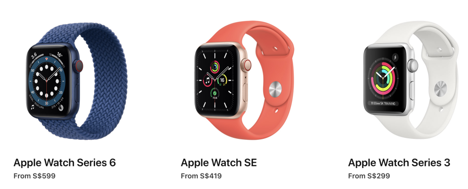 Apple launches new Apple Watch Series 6, Apple Watch SE and Apple Watch Series 3