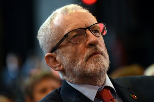 Britain's main opposition Labour Party leader Jeremy Corbyn is faced with internal strife as he prepares for next month's general election