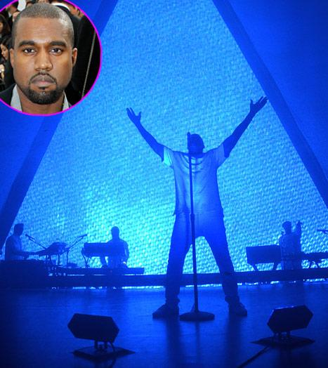 """Kanye West Defends """"Awesome"""" Kim Kardashian, Says He's a """"Terrible, Terrible Celebrity"""" in Rap"""
