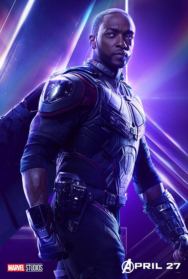 <p>Anthony Mackie's soaring superhero returns to the fold after joining Team Cap for <i>Civil War</i>. (Photo: Marvel Studios) </p>
