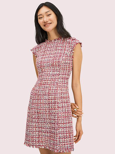 Textured Tweed Dress. Image via Kate Spade.