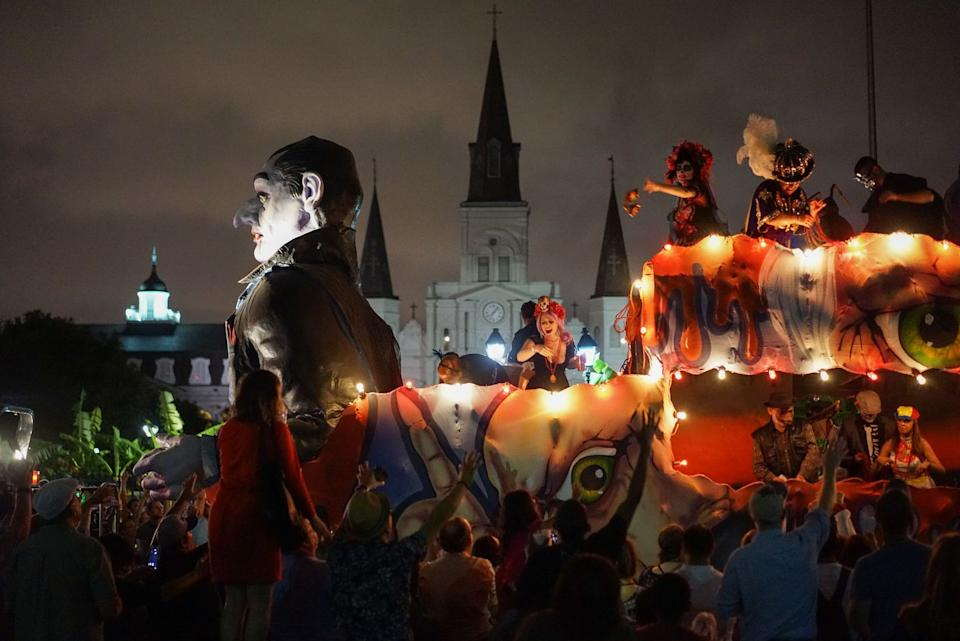 Photo credit: Paul Broussard/Courtesy of Paul Broussard NOTMC and Krewe of Boo.
