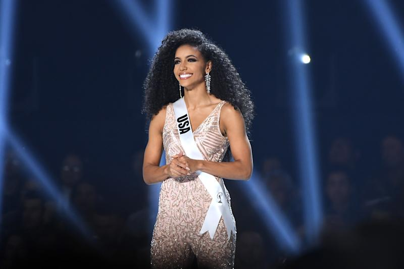 "Miss USA Cheslie Kryst talks about the organization's ""progress"" and support of BLM ahead of the 2020 pageant. (Photo: Paras Griffin/Getty Images)"