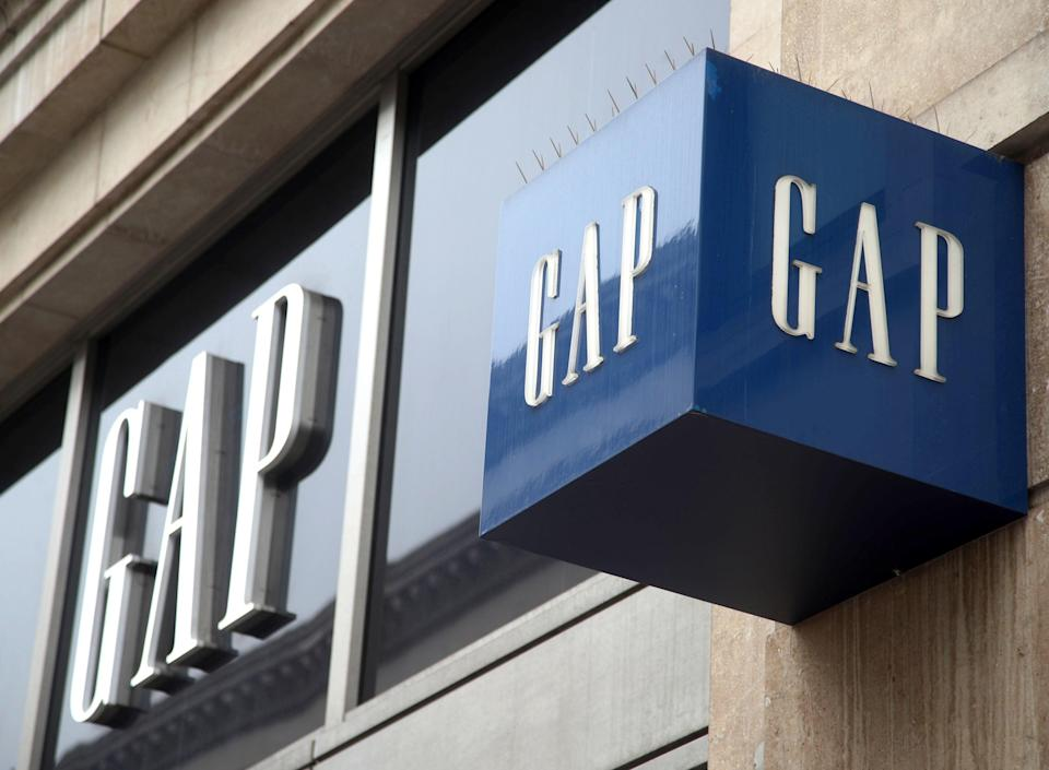 Gap is to become an online-only brand in Britain and Ireland after announcing the closure of its high street (PA)