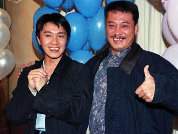 Ng Man Tat and Stephen Chow were frequent collaborators back in the day