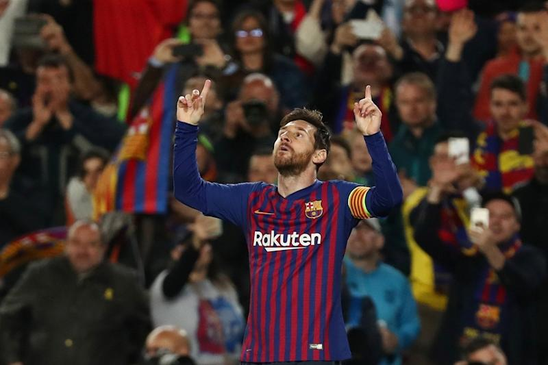 Golden Shoe: Lionel Messi Finishes as Europe's Top Scorer for Third Straight Year