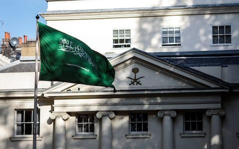 <span>Saudi spies and secret police work out of the kingdom's embassy in London</span> <span>Credit: Photo by Jack Taylor/Getty Images </span>