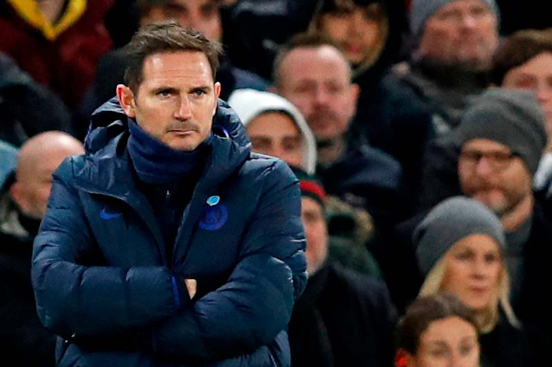 Lampard says he is enjoying the pressure that is coming with the job of being Chelsea head coach: AFP via Getty Images