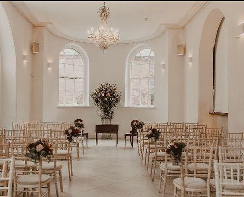 """<p>A family home more than a grand wedding venue, Iscoyd is one of the most laid back and friendly venues to choose for a big day. </p><p>The 18th Century, Grade II-listed Georgian property has three licensed rooms for civil wedding ceremonies and a church on the estate which is located a five-minute drive from the house. Guests can stay in one of 14 bedrooms on site and there's also the option of a four-bed cottage and Iscoyd Cottage for the bridal party the night before the big day.</p><p>The marquee, Garden Room and Coach House are the perfect places for the partygoers to hang out during the day, in addition to the stunning gardens for a midday stroll before settling down for a wedding breakfast and evening reception (max 160 guests).</p><p>Find out more <a href=""""https://iscoydpark.com/"""" rel=""""nofollow noopener"""" target=""""_blank"""" data-ylk=""""slk:here"""" class=""""link rapid-noclick-resp"""">here</a>. </p><p><a href=""""https://www.instagram.com/p/CCFt3W0h2J9/?utm_source=ig_web_copy_link"""" rel=""""nofollow noopener"""" target=""""_blank"""" data-ylk=""""slk:See the original post on Instagram"""" class=""""link rapid-noclick-resp"""">See the original post on Instagram</a></p>"""