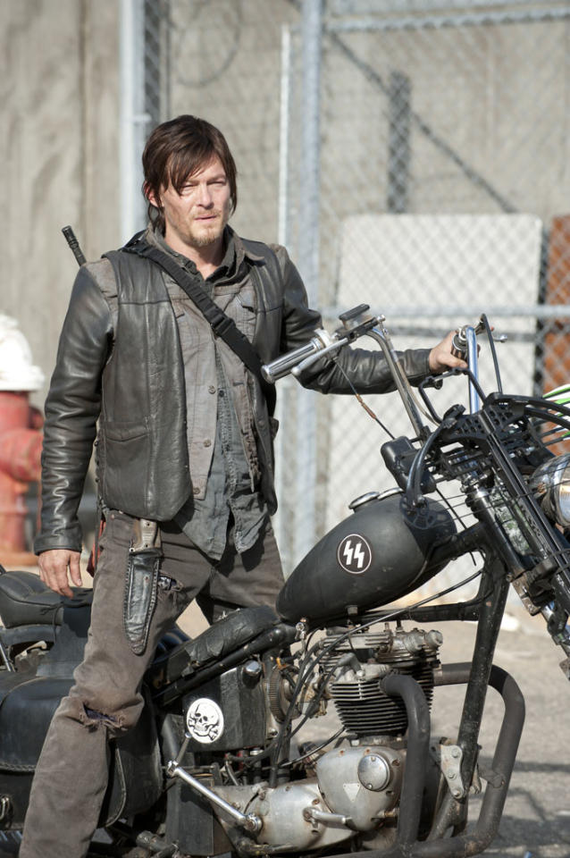 "Daryl Dixon (Norman Reedus) in ""The Walking Dead"" Season 3 Finale, ""Welcome to the Tombs."""