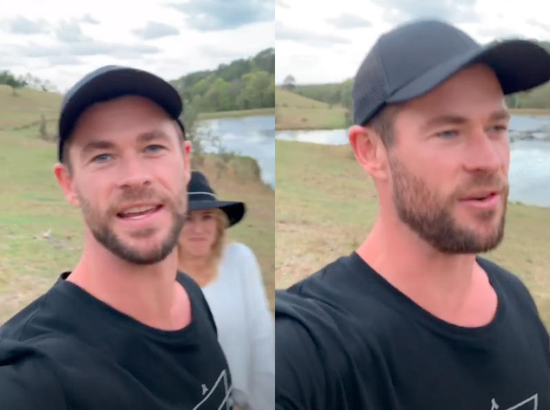 Chris Hemsworth and Elsa Pataky shared a very relatable parenting moment with fans. Photo: Instagram/chrishemsworth