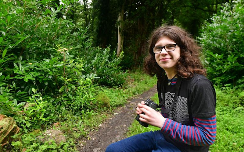 Dara McAnulty, the 15 year-old who, on Tuesday, will be announced as the youngest ever winner of the Wainwright Prize for Nature Writing - Alan Lewis/Photopress Belfast