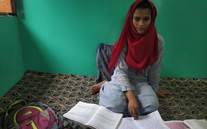 A high-achiever at her government school in Jammu and Kashmir, Nadiya Akbar wants to pursue her dream of studying medicine - Joe Wallen