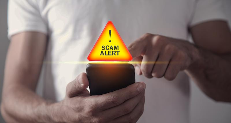 Online scams can come in many forms and via any kind of device. (Photo: Getty)