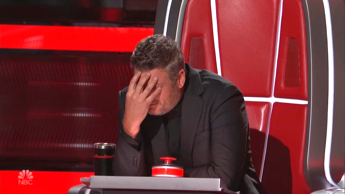 'The Voice' coach Blake Shelton's 'soul-crushing' decision: 'My heart's broken right now' - Yahoo Entertainment : On a night of tough decisions, Blake was crushed to let a promising contestant go... right after she sang his own song.  | Tranquility 國際社群
