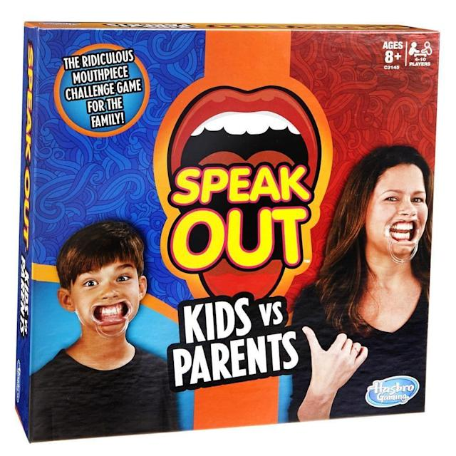 Speak out will keep your family entertained for hours