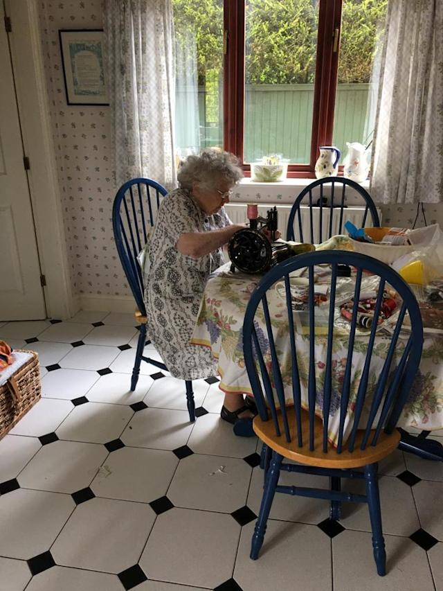 The 92-year-old wanted to give back. (SWNS)