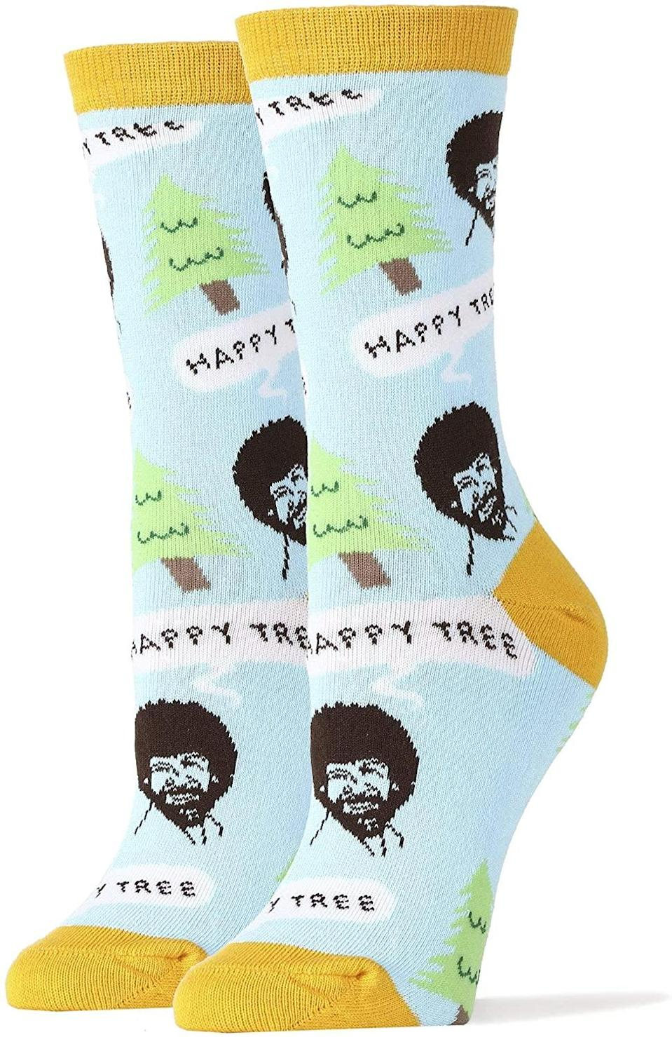 """<h2>Bob Ross Novelty Crew Socks</h2><br><strong>What are they? </strong>Comfy crew socks adorned with the smiling likeness of the pioneering PBS painter<br><br><strong>What's the hottest take? </strong>""""bob ross bob ross bob ross bob ross bob ross bob ross bob ross bob ross bob ross bob ross bob ross bob ross bob ross bob ross bob ross,"""" wrote reviewer Alexis. """"bob ross bob ross bob ross bob ross bob ross bob ross bob ross bob ross bob ross bob ross bob ross bob ross bob ross bob ross bob ross bob ross bob ross bob ross bob ross bob ross bob ross bob ross bob ross bob ross bob ross bob ross bob ross bob ross bob ross bob ross bob ross bob ross bob ross bob ross bob ross bob ross bob ross bob ross bob ross bob ross bob ross bob ross bob ross bob ross bob ross bob ross bob ross bob ross bob ross bob ross bob ross,"""" she continued, adding that """"bob ross bob ross bob ross bob ross bob ross bob ross bob ross bob ross bob ross.""""<br><br><strong>oooyeah</strong> Bob Ross Novelty Socks, $, available at <a href=""""https://amzn.to/3s6m520"""" rel=""""nofollow noopener"""" target=""""_blank"""" data-ylk=""""slk:Amazon"""" class=""""link rapid-noclick-resp"""">Amazon</a>"""