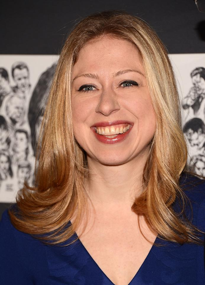 NEW YORK, NY - DECEMBER 03:  Chelsea Clinton attends The Museum of Modern Art Film Benefit Honoring Quentin Tarantino at MOMA on December 3, 2012 in New York City.  (Photo by Andrew H. Walker/Getty Images)