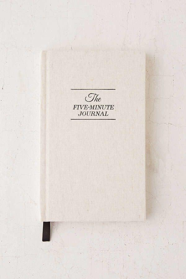"<i>Buy it from <a href=""https://www.urbanoutfitters.com/shop/the-five-minute-journal-by-intelligent-change?category=gift-ideas-for-women&amp;color=000"" rel=""nofollow noopener"" target=""_blank"" data-ylk=""slk:Urban Outfitters"" class=""link rapid-noclick-resp"">Urban Outfitters</a> for&nbsp;$24.95.</i>"