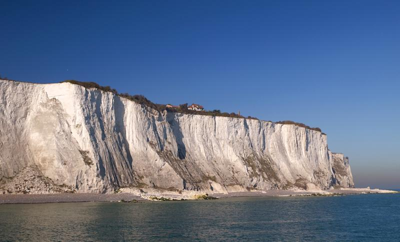 A file image of the White Cliffs of Dover (PA)