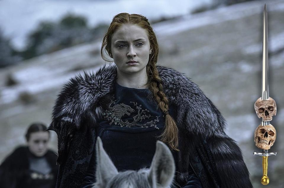 <p>The romantic hearts that were once in Sansa's eyes have been replaced by steely flint. She's been through a lot, but more important, she's learned a lot. Her tutelage under Littlefinger has taught her the art of intrigue and, perhaps most important, taught her not to trust Littlefinger.<br><br>(Photo Credit: HBO) </p>