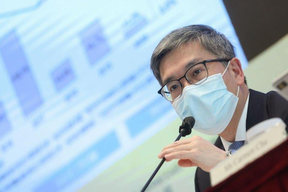 Arthur Yuen, deputy chief executive of HKMA, says thousands of bank employees will have to be equipped with new skill sets to adapt to the future needs of the banking sector. Photo: K. Y. Cheng