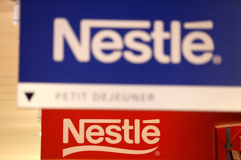 Nestle first-quarter sales beat estimates as consumers hoard pet food, coffee