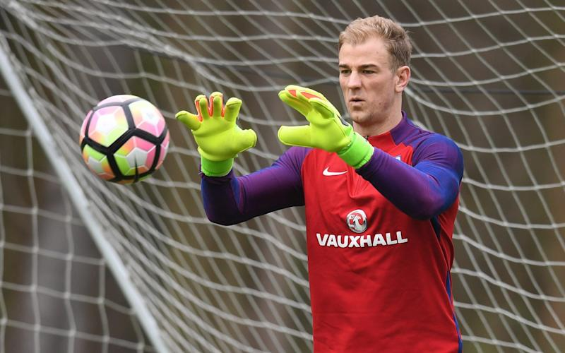 Joe Hart is still England's first-choice goalkeeper - The FA Collection