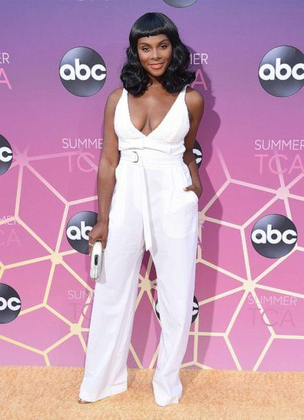 PHOTO: Tika Sumpter arrives at ABC's TCA Summer Press Tour Carpet Event, Aug. 5, 2019 in West Hollywood, Calif. (Gregg DeGuire/WireImage/Getty Images)