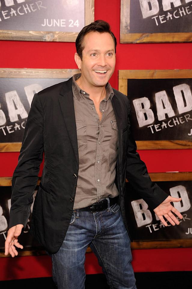 """<a href=""""http://movies.yahoo.com/movie/contributor/1802867271"""">Thomas Lennon</a> at the New York City premiere of <a href=""""http://movies.yahoo.com/movie/1810150690/info"""">Bad Teacher</a> on June 21, 2011."""