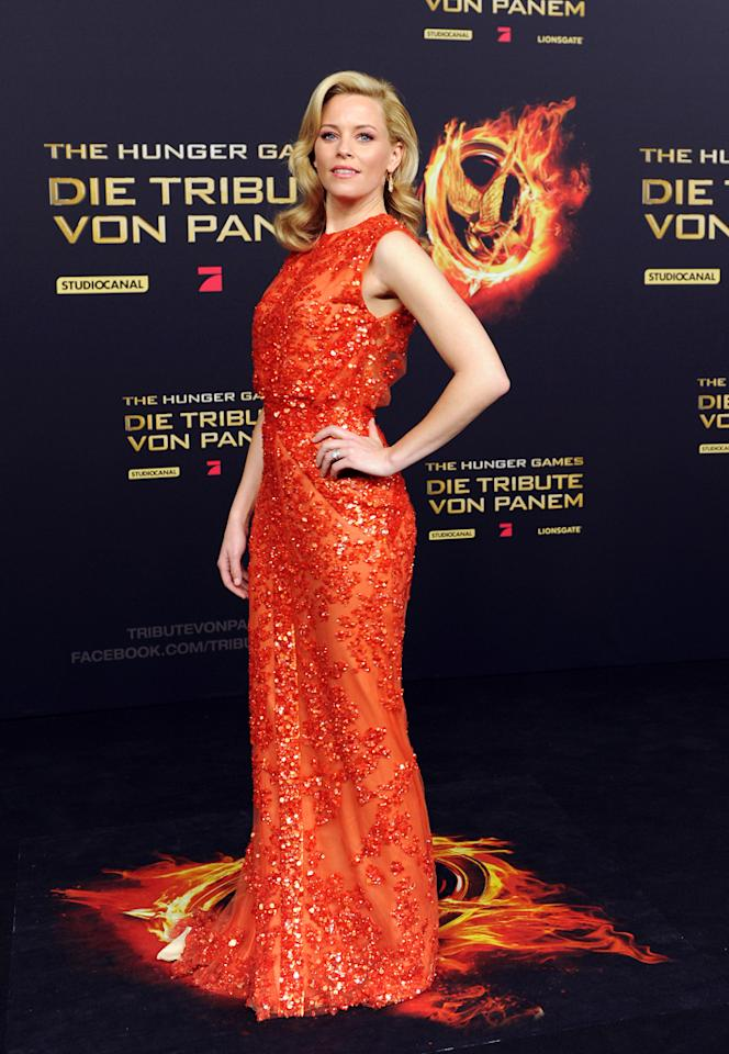 Elizabeth Banks attends the Germany premiere of 'The Hunger Games' at Cinestar on March 16, 2012 in Berlin, Germany. (Photo by Target Presse Agentur Gmbh/WireImage)
