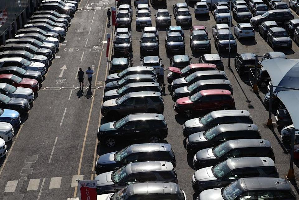 Last month was the worst September since 1998 for car sellers (Yui Mok/PA) (PA Archive)