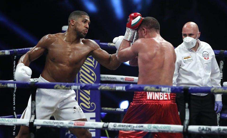 Anthony Joshua defeated Kubrat Pulev back in December (PA Archive)