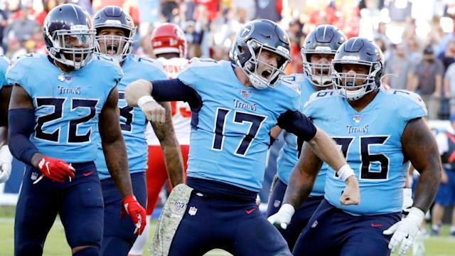 How the Titans became the NFL's hottest red zone team