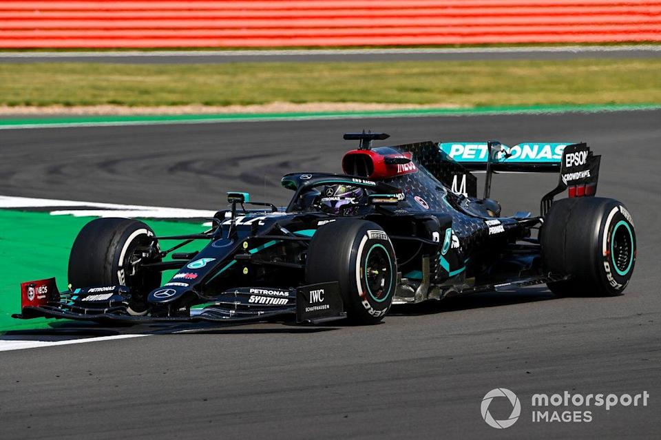"Silverstone 2: Lewis Hamilton (Mercedes)<span class=""copyright"">Mark Sutton / Motorsport Images</span>"