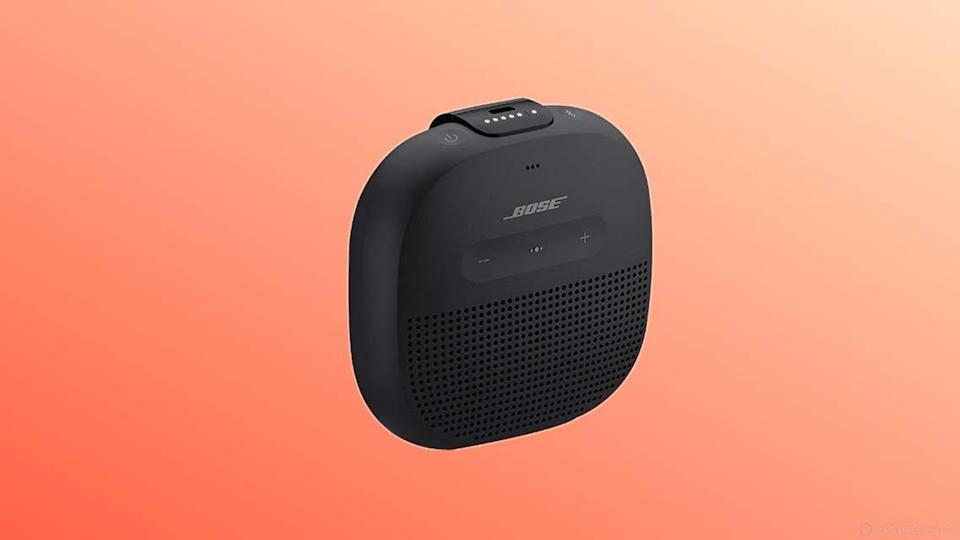 This speaker is small but mighty.