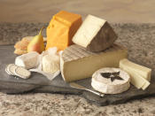 <p>Pick a healthier cheese or opt in for a stronger flavoured cheese, such as blue cheese or goat cheese so your taste buds will be satisfied with a less-is-more approach. <i>(Photo Credit: Getty Images)</i></p>