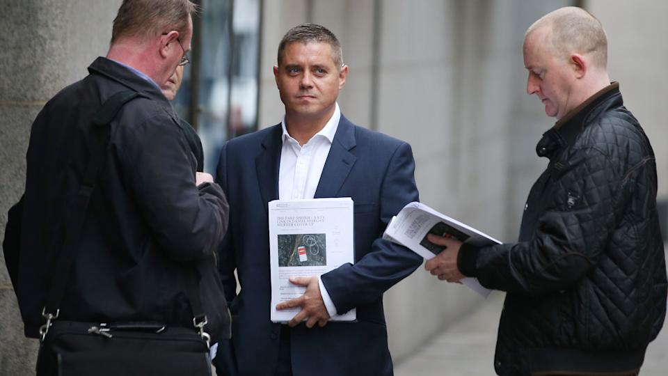 John Alford fell from grace after being involved in a drugs scandal (Image: Getty Images)