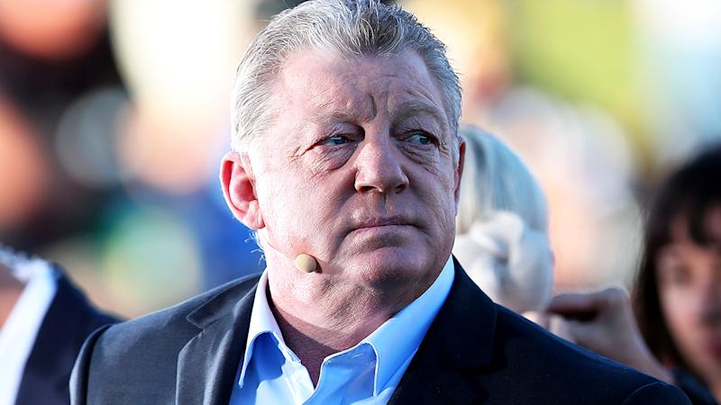 Phil Gould, pictured here during a match between the Newcastle Knights and Parramatta Eels in 2019.
