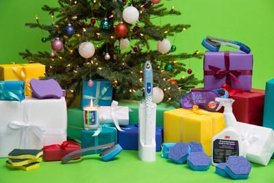 Scotch-Brite™ Brand, the maker of powerful cleaning tools for an extraordinary clean in every room of the home, launches a one-of-a-kind Holiday Gift Guide featuring playful cleaning-inspired gifts and cleaning supplies – some of the most sought-after items of the year.