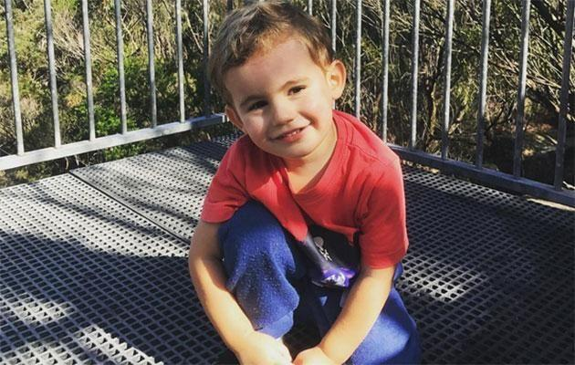 Christie announced her beautiful boy Hendrix (pictured) has been diagnosed with autism. Source: Instagram