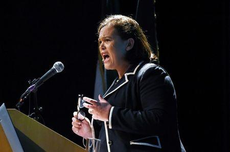 Mary Lou McDonald to succeed Gerry Adams as Sinn Fein leader