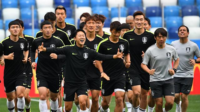 Shin Tae-yong hopes his side's first World Cup opponents will be hampered by not being able to distinguish between several of his players