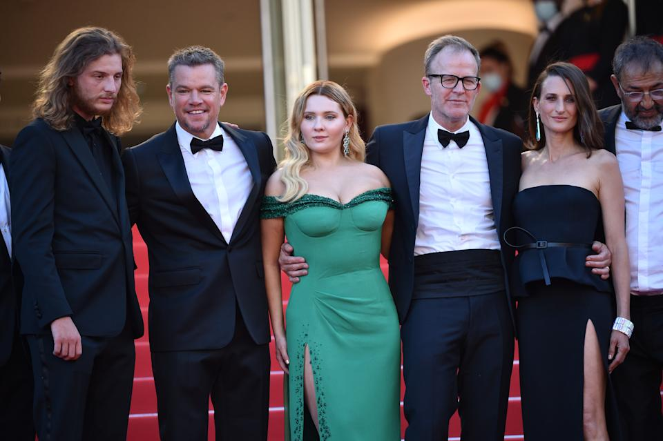 'Stillwater' premiered in July at the Cannes Film Festival. (Lionel Hahn/Getty Images)